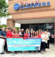 Lucy's Grand Cleaners Lewisville Chamber ribbon cutting